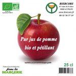 pur jus pomme bio pétillant Bière du Vercors Brasserie du Vercors AUTRANS Limonade du Vercors