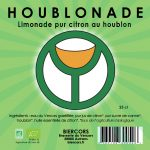 Houblonade limonade pur citron au houblon biologique BIERCORS Brasserie du Vercors AUTRANS
